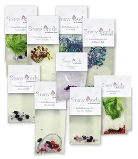 Snow Buds Complete Set of Embellishments