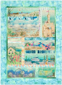 Beach Walk Pieced Quilt