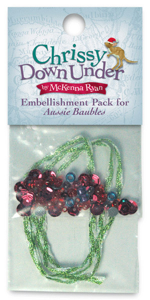 Aussie Baubles Embellishment Kit - ONLY ONE LEFT!