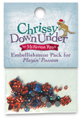 Playin' Possum Embellishment Kit- ONLY ONE LEFT!