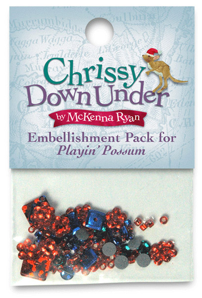 Playin' Possum Embellishment Kit - SOLD OUT!