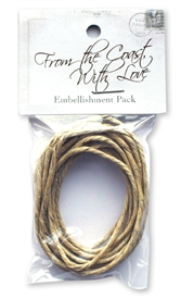 Embellishment kit that includes the rope for Block Nine of From the Coast, With Love.