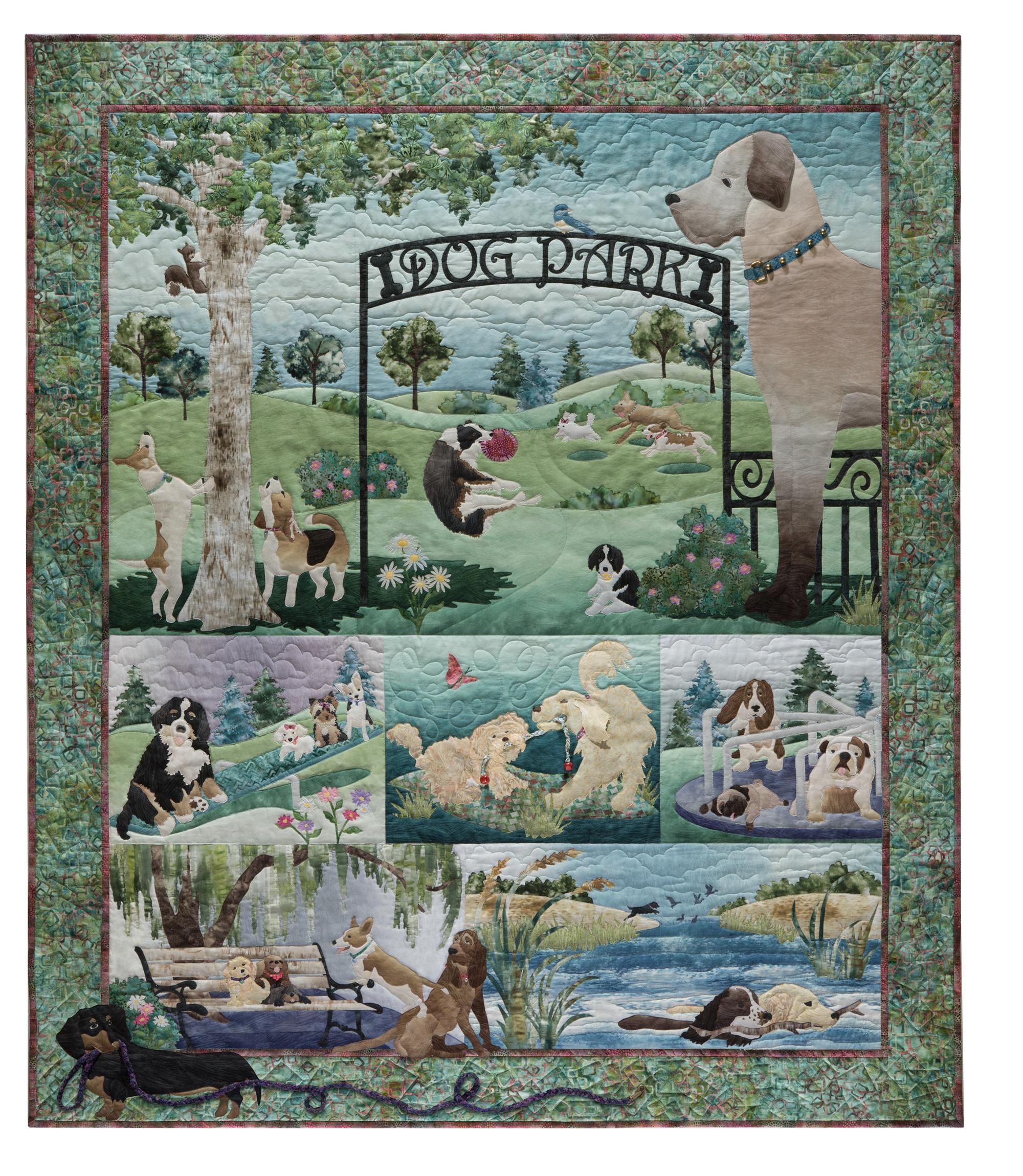 Dog Days of Summer McKenna Ryan Pine Needles 5 Quilt Pattern Set