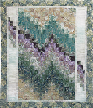 Desert Mirage Bargello Pieced Quilt Pattern Instructions
