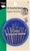 Package of thirty hand sewing needles made by Dritz.