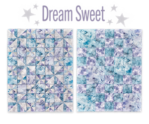 Dream Sweet Rag or Traditional Pieced Quilt Pattern