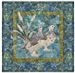 Quilt block of a covey of ptarmigan