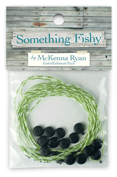 Something Fishy Embellishment Kit