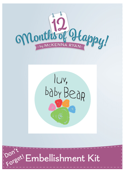 Block 4 Mckenna Ryan 12 Months of Happy Traditional Applique Hoffman Fabric Kit Egg-Specially for You