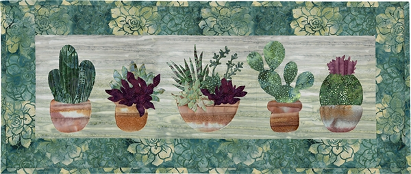 Prickly Pots Traditional Fabric Kit