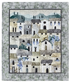 Villas at Dawn Traditional Fabric Quilt Kit