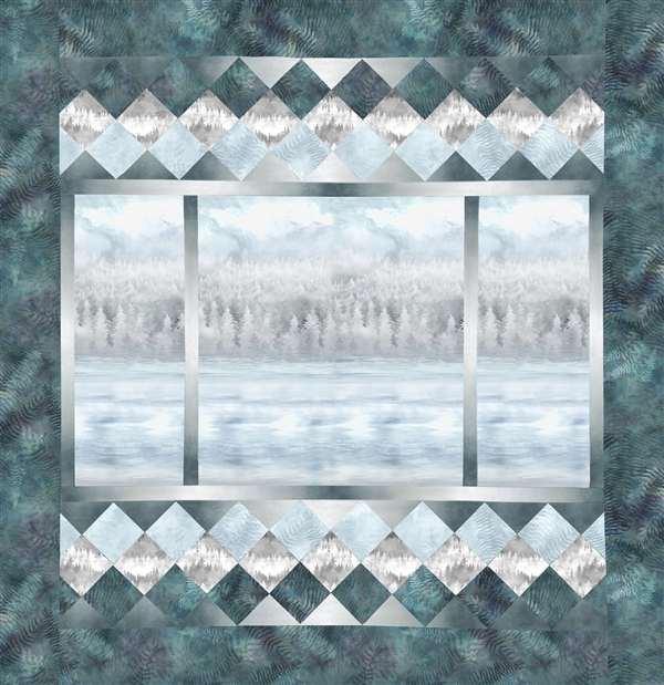 A View From Here Pieced Quilt Fabric Kit for Collection Two