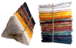 Hoffman 885 Batik Autumn Fat Quarter Bundle (20 pieces) - ONLY ONE LEFT!