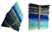 Hoffman 885 Batik Blues Fat Quarter Bundle (20 pieces) - SOLD OUT!