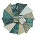 Oasis Teal Collection Fat Quarter Bundle