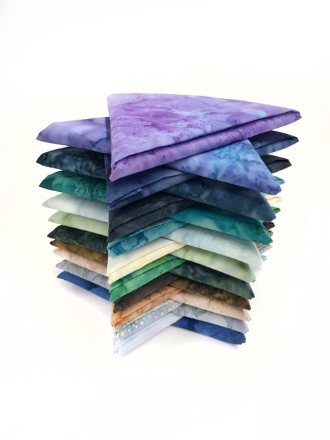 McKenna's Signature Hoffman Palette Fat Quarter Bundle (20 pieces)
