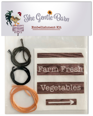 The Gentle Barn Embellishment Kit