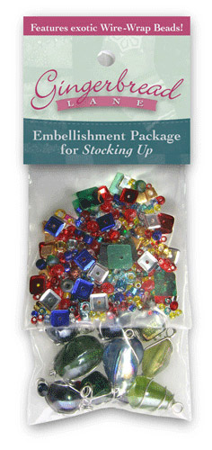 Stocking Up Embellishment Kit