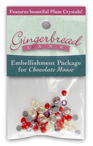 Chocolate Moose Embellishment Kit