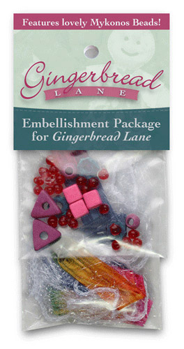 Gingerbread Lane Embellishment Kit - SOLD OUT!