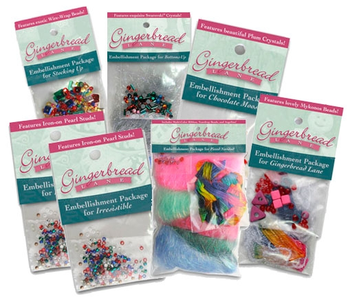 Gingerbread Lane Complete Embellishment Set- SOLD OUT!