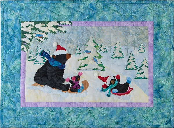 Sledding into the New Year and Complete Quilt Instructions