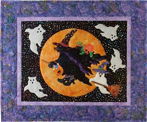 Beary Be-Witching Applique Pattern