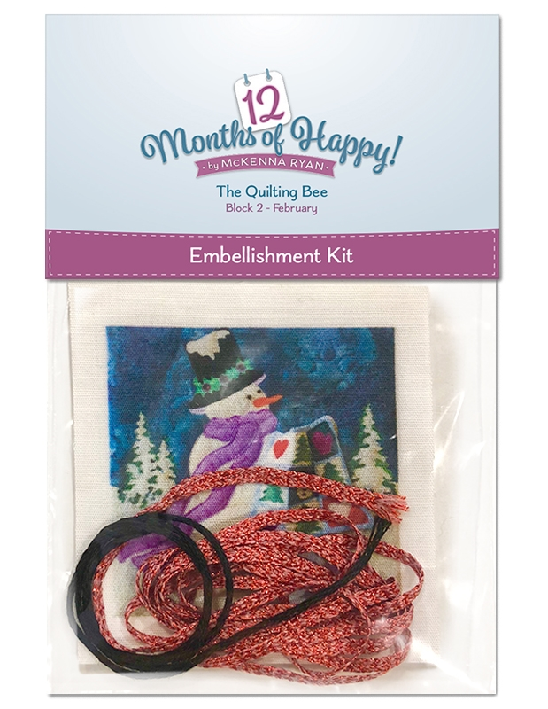 The Quilting Bee Embellishment Kit