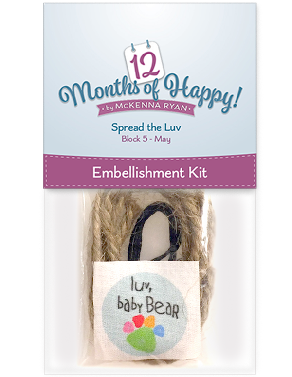 Spread the Luv Embellishment Kit