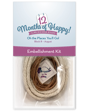 Oh the Places You'll Go! Embellishment Kit