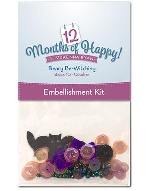Beary Be-Witching Embellishment Kit