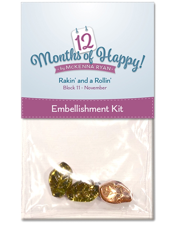 Rakin' and a Rollin' Embellishment Kit
