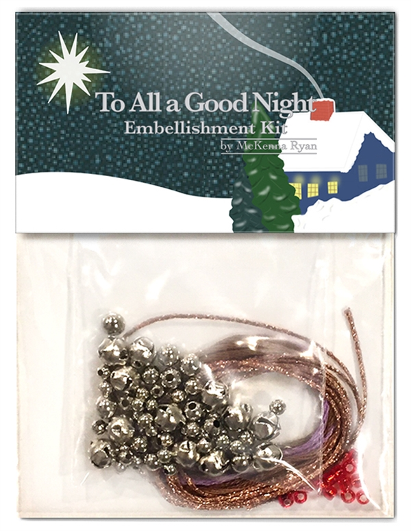 To All A Good Night Embellishment Kit (Kx12)