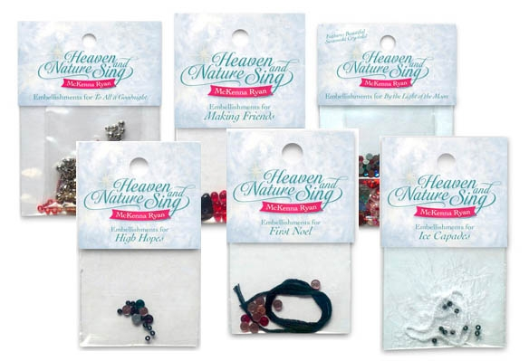 Heaven and Nature Sing Complete Embellishment Set