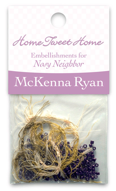 Nosy Neighbor Embellishment Kit