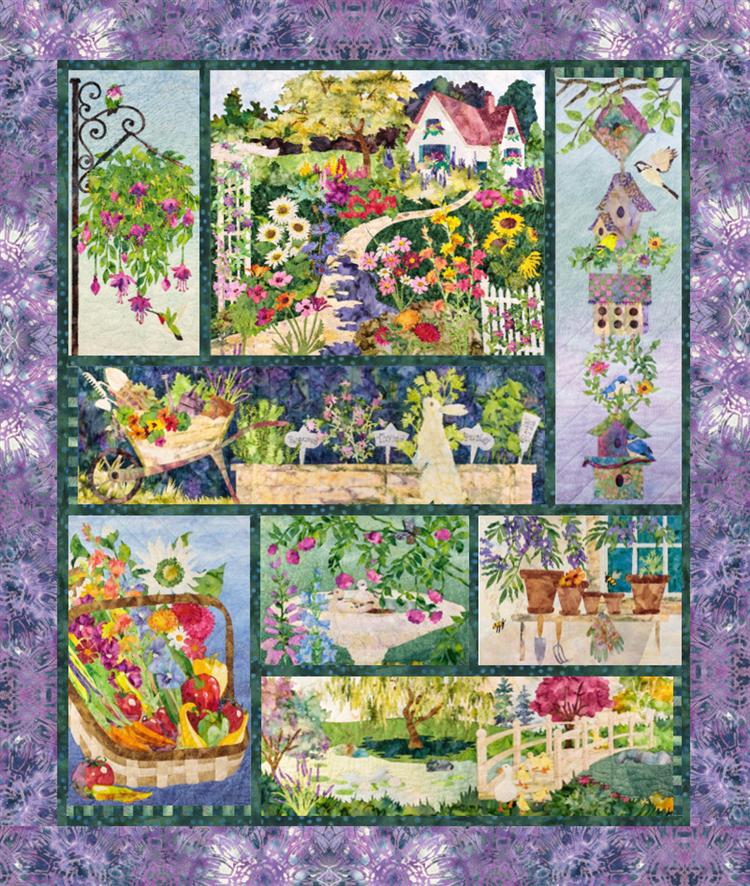 McKenna Ryan   Pine Needles | In Full Bloom Pieced Quilt Pattern