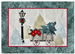 applique pattern for Joyeux Noel Wagon quilt block