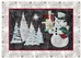 applique pattern for Joyeux Noel Snowman quilt block