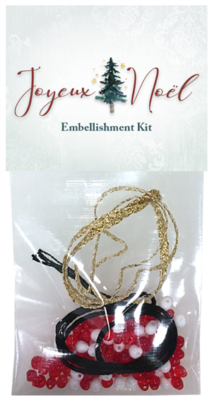 embellishment kit for Joyeux Noel