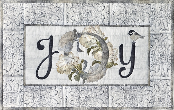 Blooms of Inspiration - Joy Laser Cut Fabric Kit