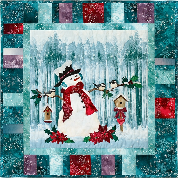 Frosty Perch Laser Cut Fabric Kit - SOLD OUT!