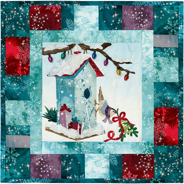 Deck the Halls Laser Cut Fabric Kit