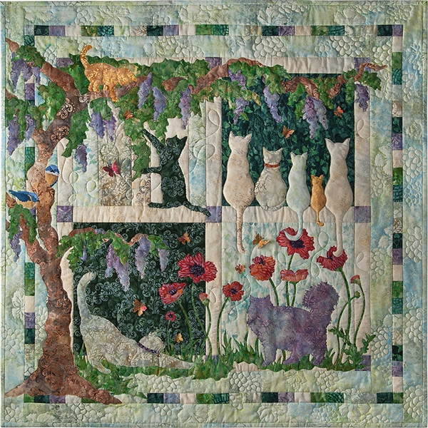 Wisteria Lane Complete Laser Cut Fabric Kit