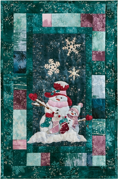 Get your stockings ready! Mama and Snow Baby decorate their snow bank for Christmas!