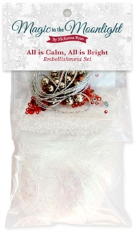 All is Calm, All is Bright... Embellishment Kit