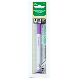 Air Erase Marker is a favorite for embroidery, cross stitch, and quilt embellishing.