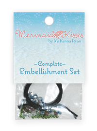 Mermaid Kisses Complete Embellishment Kit