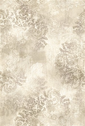 Paisley digital print fabric in neutral tones