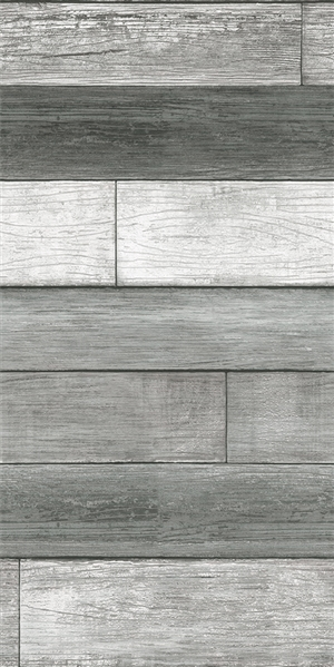 Reclaimed wood digital print fabric in gray tones