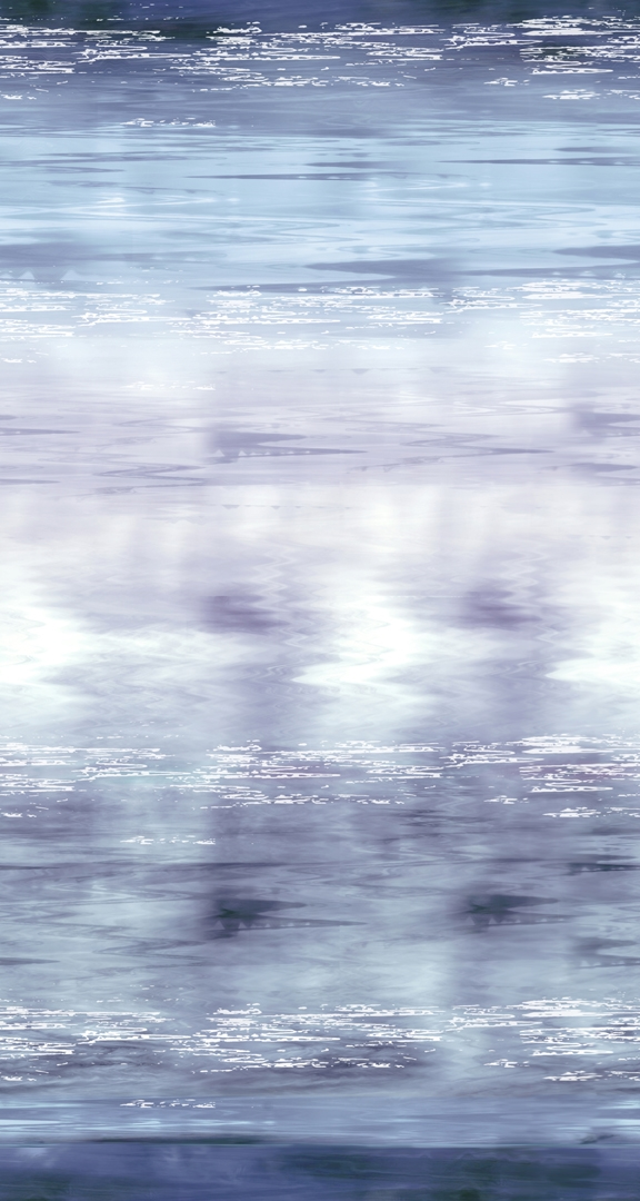 Ombre digital print fabric of water in blue and purple tones